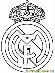Colouring Pages Real Madrid And