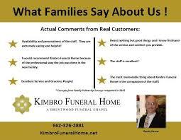 Kimbro Funeral Home Home