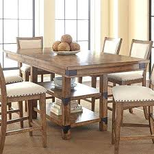 Rustic Counter Height Table Dining Tables Unique Plans Full Pine
