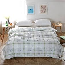 amazon com naturety thin comforter for summer bed quilt queen