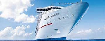 carnival sunshine cruises great deals on cruises with cruiseabout