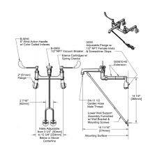 Floor Mounted Mop Sink Dimensions by Mop Sink Faucet Rough In Height Mop Sink Faucet Rough In Height