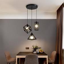 3er set pendelleuchte hängeleuchte metall deckenleuchte esstisch esszimmerle wohnzimmer le schlafzimmer küche decke leuchte vintage ohne