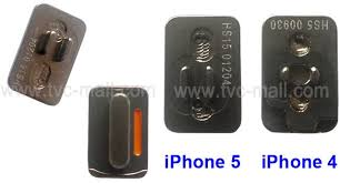 iPhone 5 mon Parts Leaked Includes Power Mute And Volume Button