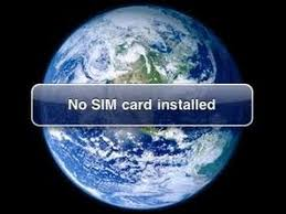 Fix No sim installed no service on iPhone 5 iPhone 4S iPhone 3GS