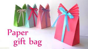 DIY Crafts Paper GIFT BAG Easy