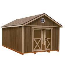 12x20 Storage Shed Kits best barns arlington 12 ft x 20 ft wood storage shed kit with
