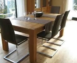 tisch stuhl sets aus eiche bis 10 personen günstig kaufen