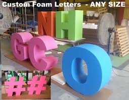 Foam Letters Giant Big Oversized Letters and Numbers Dino