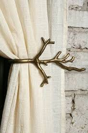Antler Curtain Tie Backs by Curtain Tie Backs Decor Home Design And Decor Inspiration 8521