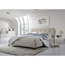 wholesale interiors baxton studio king upholstered platform bed