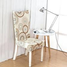 Stretch Dining Chair Covers Grey Faux Linen Room