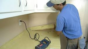how to remove and install plastic laminate kitchen countertops