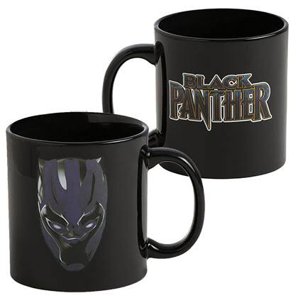 Marvel Black Panther Heat Reactive Colour Changing Coffee­ Mug - 590ml