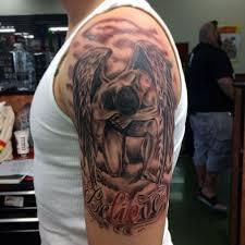 Religious Angel Tattoo Designs