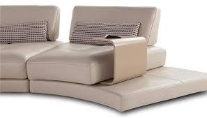 roche bobois canape scenario semicircular sofa contemporary leather with reclining back