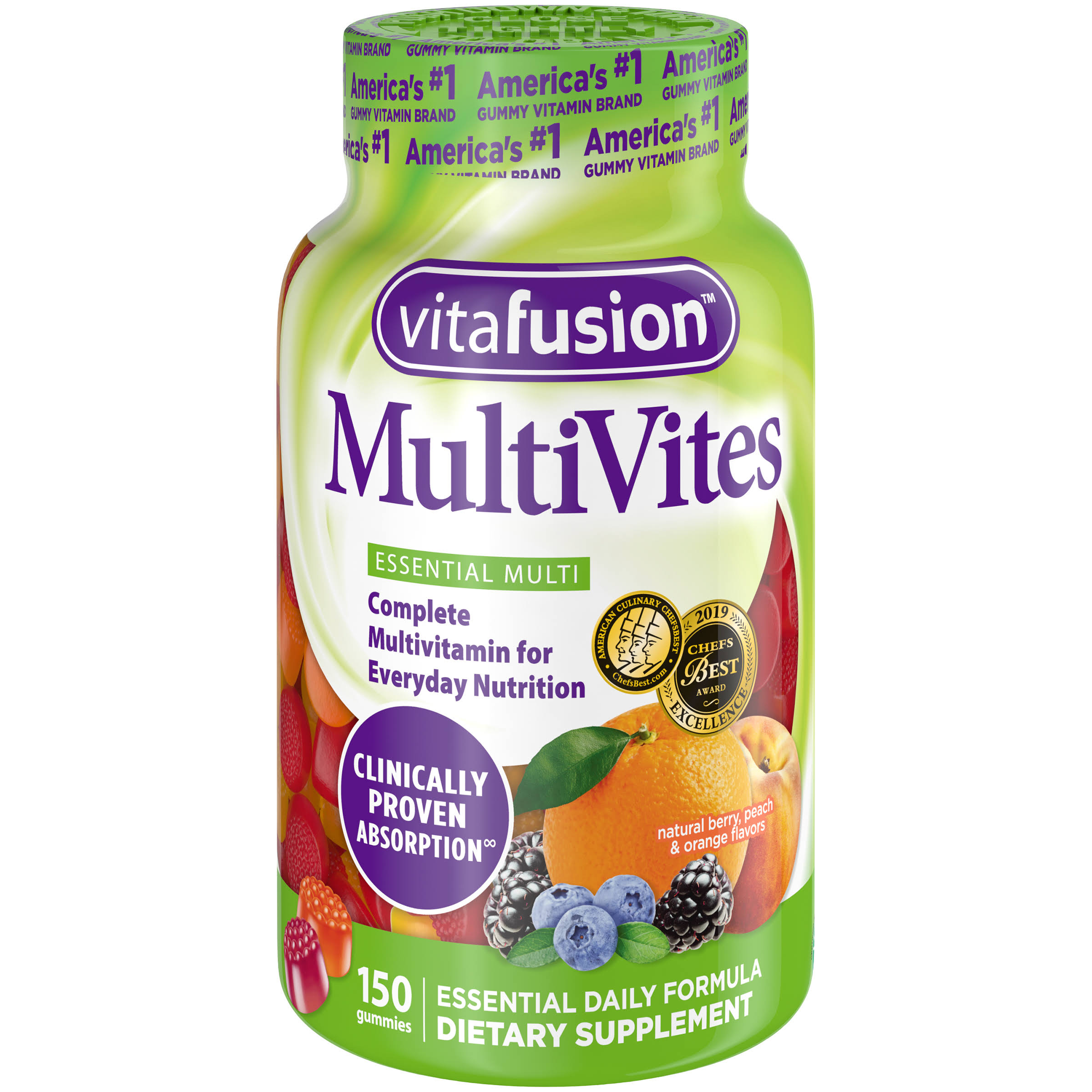 Vitafusion Multi-vite Gummy Vitamins For Adults - 150ct