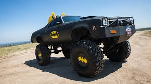 100 Monster Trucks Colorado Holy Cow The Batmobile On 44Inch Wheels RIDICULOUS RIDES