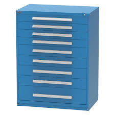 Stanley Vidmar Cabinet Drawer Dividers by Stanley Vidmar Modular Drawer Cabinet 400 Lb Dark Blue 36nl31