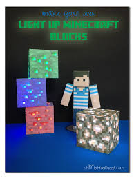 Minecraft Light Up Blocks