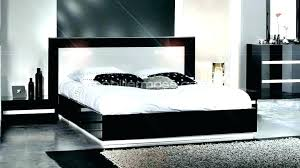 chambre avec meuble blanc chambre avec meuble blanc chambre avec lit noir lit blanc et noir