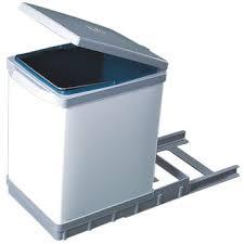 poubelle de cuisine coulissante monobac poubelle coulissante dans poubelle achetez au meilleur prix avec