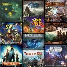 Top 10 Boardgames List