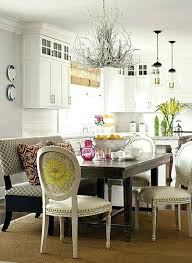 Elegant Dining Room Bench With Back And Best Within