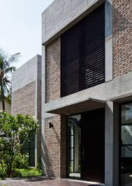 100 Concrete House Design Brick And Concrete House Domestic Modern Brick House Facade