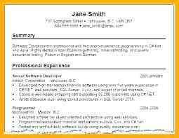 Resume Profile Examples For Recent College Graduates Example Of Summary Customer Service Manager Sample Resumes R