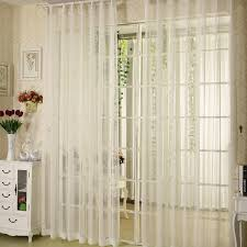 Gold And White Sheer Curtains by Simple Sheer Linen Curtain With The Decoration Of Gold Lines