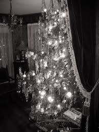 Gold Christmas Tree Tinsel Icicles by Old Fashioned Christmas Tree 1940 U0027s Style Oldhouseguy Blog