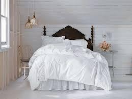 BedroomAttractive Dark Brown Wood Headboard Design Ideas 2017 Bright Chic Bedroom Decor White Painted