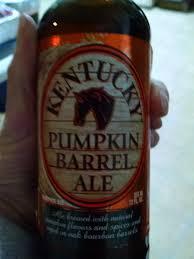Kentucky Pumpkin Barrel Ale Glass by The Educated Cupcake