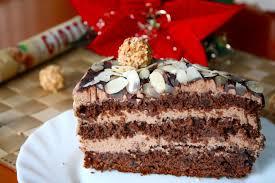 german chocolate and hazelnut cake