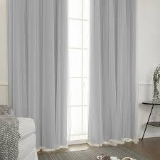 schön schick romantik polyester pur solide grau schlafzimmer