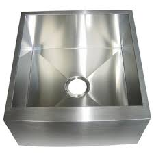 Overstock Stainless Steel Kitchen Sinks by Kingston Brass Farmhouse 21 Inch Stainless Steel Undermount Apron