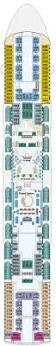 Island Princess Baja Deck Plan by Dawn Princess Cruises Great Deals On Cruises With Cruiseabout