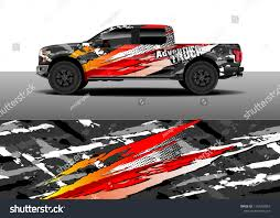 100 Truck Designs Vehicle Graphic Decal Car Stock Vector Royalty Free