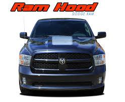 100 Ram Truck Decals RAM HOOD Dodge Hood Stripes Dodge Vinyl