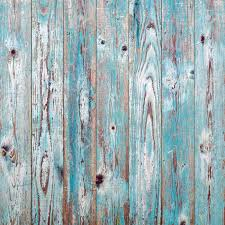 Blue Vintage Wood Texture Background Stock Photo