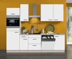 küchenblock genf 270 cm mit einbauspüle ohne elektrogeräte in weiß matt geschirrspüler geeignet