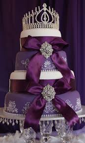Purple Wedding Cake Ideas