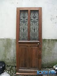 vend porte d entrée en chêne annonce equipement de maison