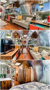 100 Airstream Trailer Restoration Rare Trailer Gets A Stunning Midcentury Style