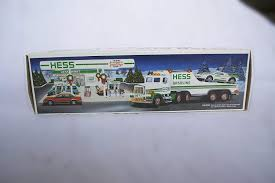 Amazon.com: 1991 HESS TOY TRUCK WITH RACER: Toys & Games