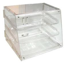 Winco ADC 3 Tier Acrylic Pastry Display Case
