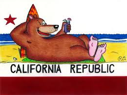 Rustys California Bear Flag By WalterRingtail