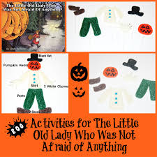 Spookley The Square Pumpkin Preschool Activities by The Little Old Lady Who Was Not Afraid Of Anything Activities For