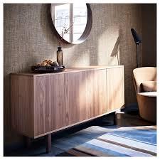 stockholm sideboard nussbaumfurnier 160x81 cm ikea